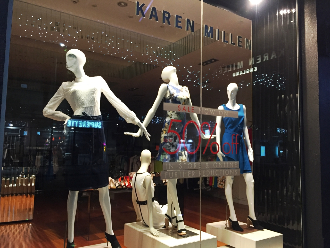 WINDOW SHOPPING – #Auckland | Newmarket Nuffield street – January 2017-Karen Milen -photographer @KevinJamesNg