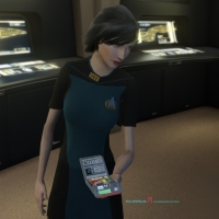 #COSPLAY #StarTrekOnline | #ANOVOS #StarTrek - The Next Generation – The Women's Skant dress uniform – how to get this 30th year anniversary  look...!
