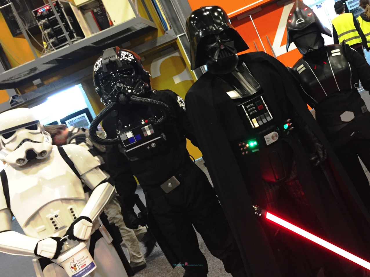 Orthough they're from the dark side but a little good light side in finding funds for the Ronald McDonald House..