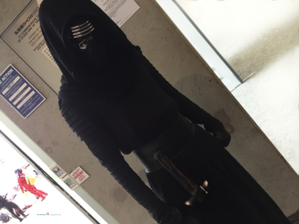 One great cosplay of Ben Solo Aka- Kylo Ren..
