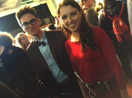 Also another great Doctor Who Cosplay of Matt's Doctor with the Impossible girl -Clara Oswald