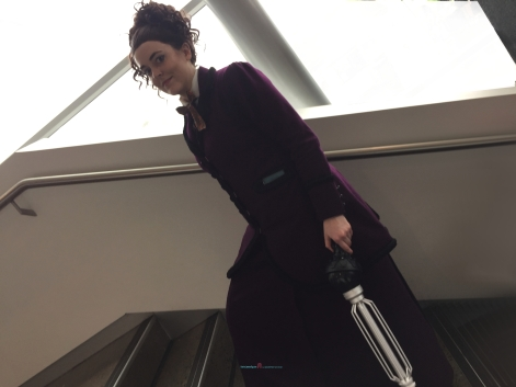 A great Doctor who Missy Cosplay