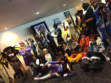 photograph sessions with a group of Cosplayer whom borderless passion about crafting story play their costume play..