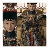 #QIPAO #Cheongsam #旗袍 #QingDynasty | #延禧攻略 - #StoryOfYanxiPalace – #TelevisionMovieWardrobe – Wu Yinyan's  Empress Wei YingLuo -Weigiya Xiaoyichun white crystal bracelet- how to get this look..
