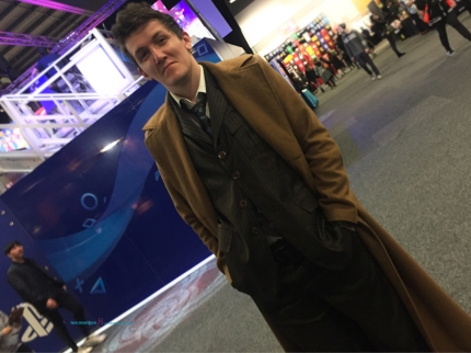 That Doctor - Doctor Who striking pose as the 10th Doctor - David Tennant's Doctor