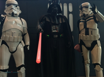 Star Wars Cosplay is a constant favourite as the New Zealand's Legion 201st Cosplaying in Star Wars with some iconic characters, in which Darth Vader wants you donate to a good cause in which was Breast Cancer Awareness month..