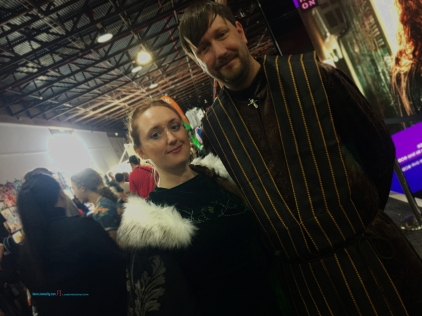 Cosplaying Game Of Thrones is a constant, in which these two, Lady Sansa Stark.. and Petyr Baelish known as Little finger..