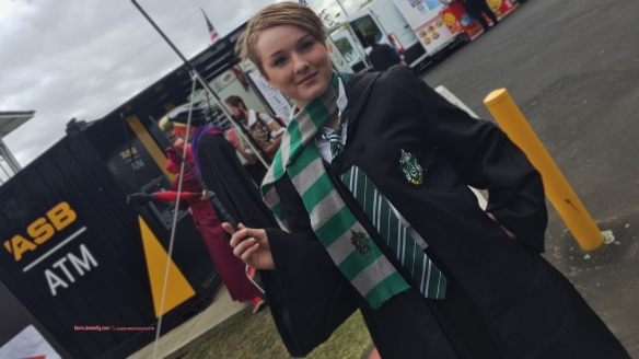 A always constant favorite a female Hogwarts student - house of Slytherin.