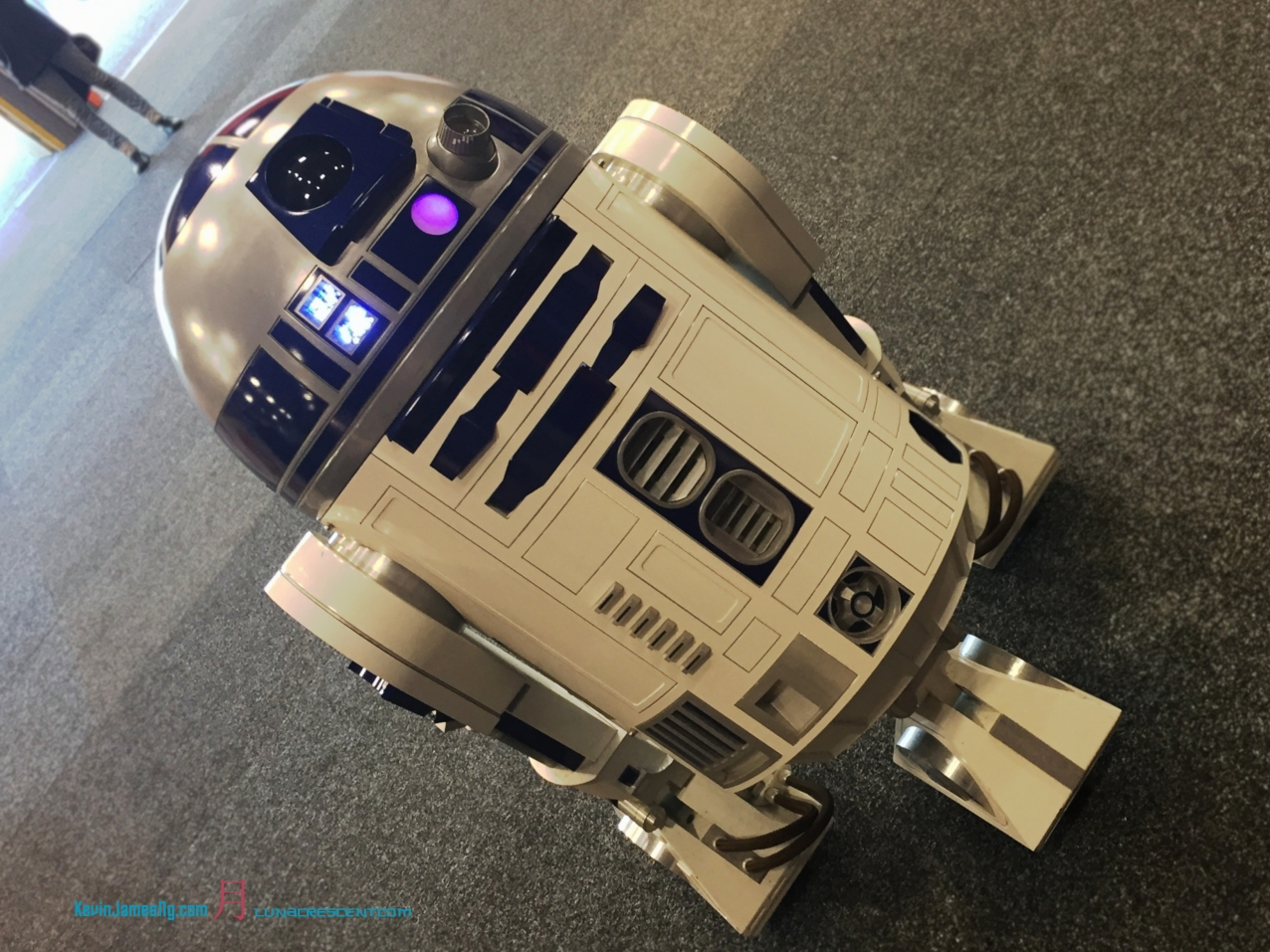 Star Wars- Legions 501st - an always favourite Astrometric Droid.. R2D2.. whom seen basically everything with the three trilogies..