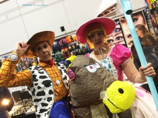 Toy Story Its Sheriff Woody and lady little Po Peep..