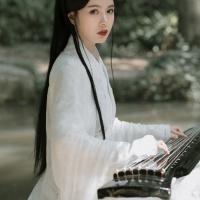 #漢服 #HanFu #HanDynastyClothing |#一碗卤肉饭饭呀 | #FashionLookBook – for #MingDynastyClothing an everyday urban bamboo jade forest Guqin musical mystic escape ….
