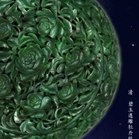 #東京。 #中國 #China #Beijing | #紫禁城 #ForbiddenCity #August2020 |#碧玉 #Jasper #jade furnishings of the #QingDynastyFurnishings crafting Jade like the Nine planets of the #SolarSystem…..
