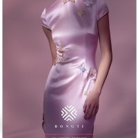 #QIPAO #旗袍 #Cheongsam |#榕缇新中式嫁衣定制 #RongtiDesign #February2021| #FashionLookBook your everyday timeless #TraditionalChineseQipao #Cheongsam prosperity #PinkQipao your individual handcrafted sewn with embroidery Jade Butterfly with Orchid, gorgeous elegant texturing of golden elegant auspiciousness and wishes…..
